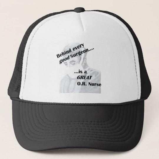 OR Nurse Trucker Hat
