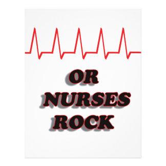 OR NURSES ROCK LETTERHEAD