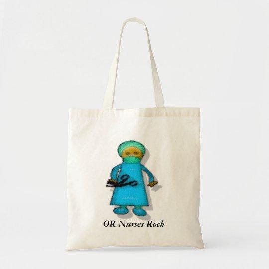 OR Nurses Rock Tote Bag