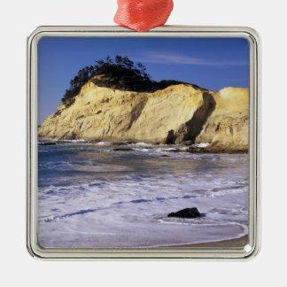 OR, Oregon Coast, Cape Kiwanda SP, Cape 2 Metal Ornament