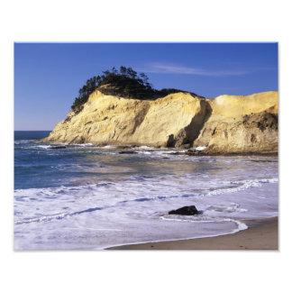 OR, Oregon Coast, Cape Kiwanda SP, Cape 2 Photographic Print
