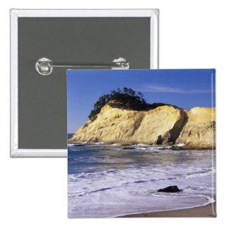 OR, Oregon Coast, Cape Kiwanda SP, Cape 2 Pinback Button