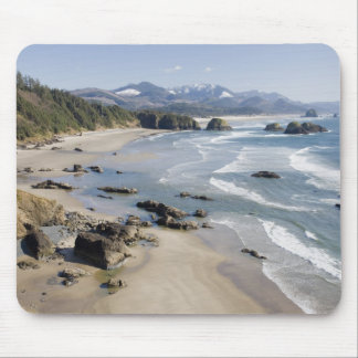 OR, Oregon Coast, Ecola State Park, Crescent 2 Mouse Pad