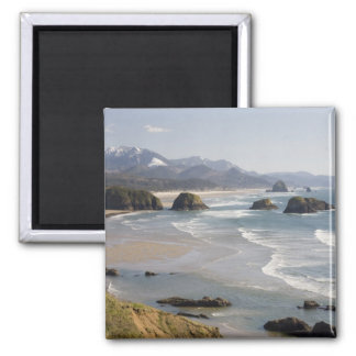 OR, Oregon Coast, Ecola State Park, Crescent Magnet