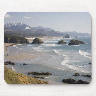 OR, Oregon Coast, Ecola State Park, Crescent Mouse Pad