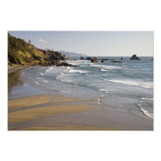 OR, Oregon Coast, Ecola State Park, Indian Photographic Print