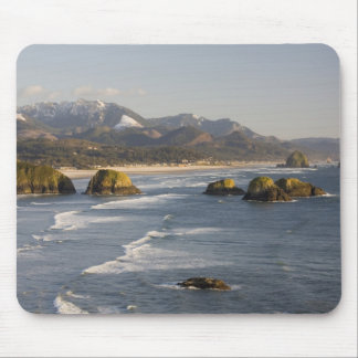 OR, Oregon Coast, Ecola State Park, view of 2 Mouse Pad