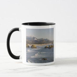 OR, Oregon Coast, Ecola State Park, view of 2 Mug