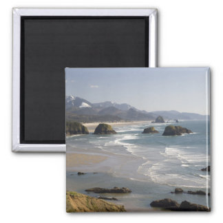 OR, Oregon Coast, Ecola State Park, view of Magnet