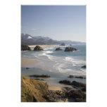 OR, Oregon Coast, Ecola State Park, view of Art Photo