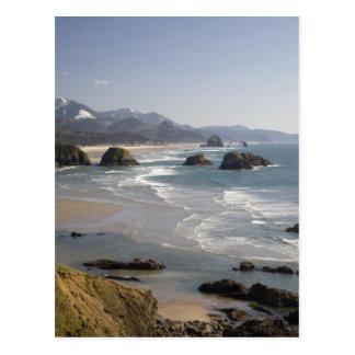 OR, Oregon Coast, Ecola State Park, view of Postcard