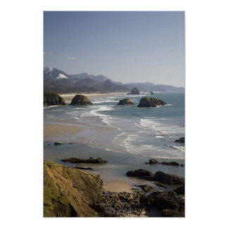 OR, Oregon Coast, Ecola State Park, view of Poster