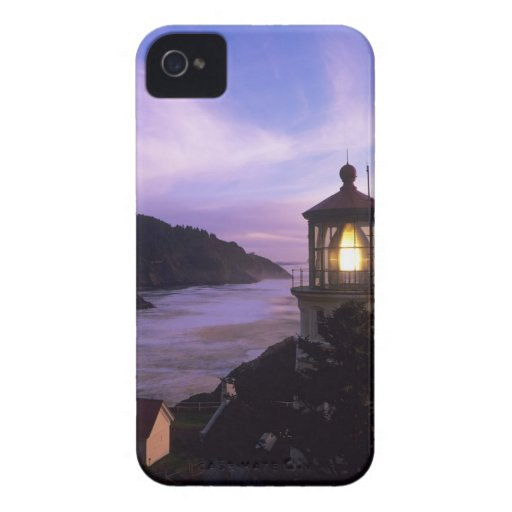 OR, Oregon Coast, Heceta Head Lighthouse, on Blackberry Bold Cover