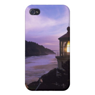 OR, Oregon Coast, Heceta Head Lighthouse, on Cover For iPhone 4