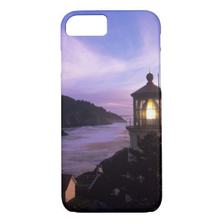OR, Oregon Coast, Heceta Head Lighthouse, on iPhone 8/7 Case