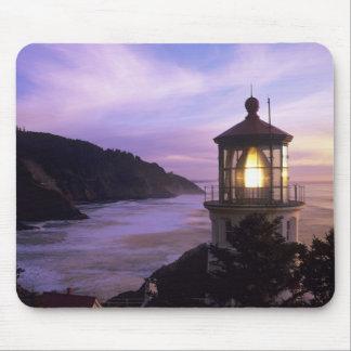 OR, Oregon Coast, Heceta Head Lighthouse, on Mouse Pad