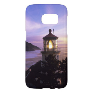 OR, Oregon Coast, Heceta Head Lighthouse on Samsung Galaxy S7 Case