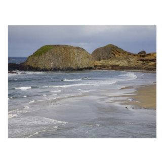 OR, Oregon Coast, Seal Rock State Park, Postcard