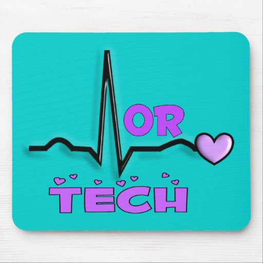 OR TECH Gifts--QRS Design Mouse Pad