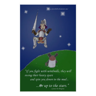 Or up to the stars poster