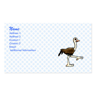 Ora Ostrich Business Card Template