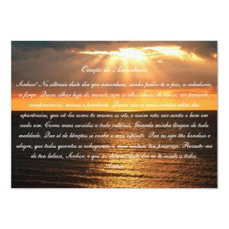Oração do Amanhecer Card