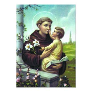 Oração para Santo Antônio Card