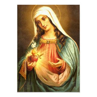 Oração Salve Rainha Card