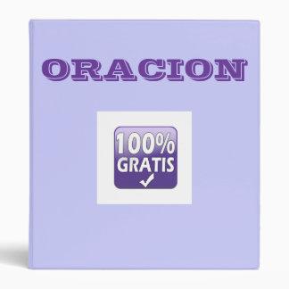 ORACION binder