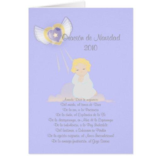 Oracion de Navidad 2010-Customize Tarjetas