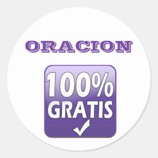 ORACION stickers