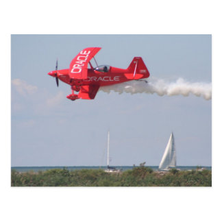 Oracle Challenger Over Lake Erie Postcard