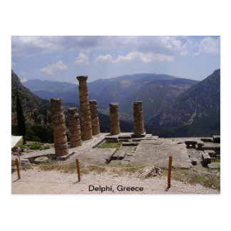 """""""Oracle de Delphi """" Postal"""