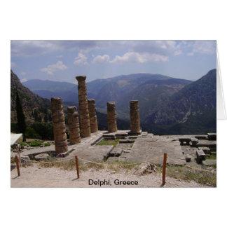 """""""Oracle de Delphi """" Tarjeta De Felicitación"""