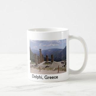 """""""Oracle de Delphi """" Taza Básica Blanca"""