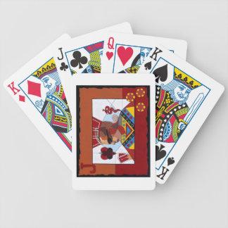 Oracle - jugador de póker profesional cartas de juego