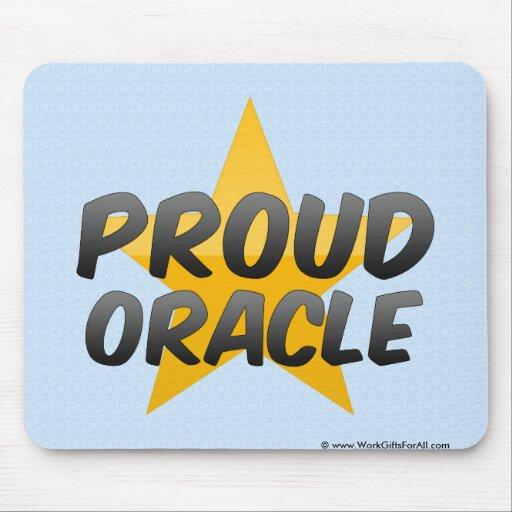 Oracle orgulloso tapete de ratones