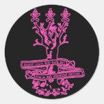oracular s.i.n. tree sticker