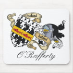 O'Rafferty Family Crest Mouse Pad