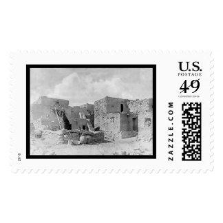 Oraibi Pueblo Hopi Indian 1895 Postage