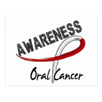 Oral Cancer Awareness 3 Postcard