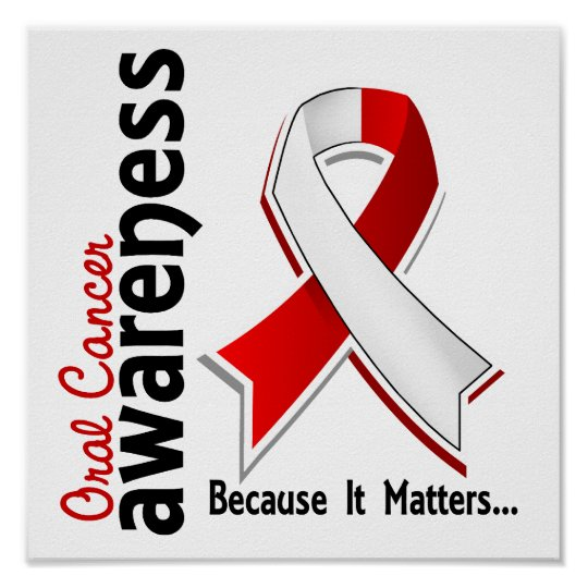 Oral Cancer Awareness 5 Poster