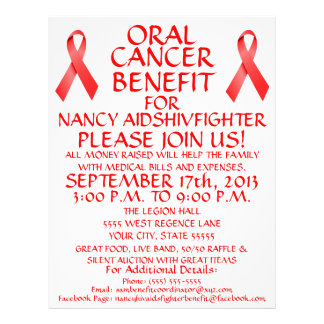 Oral Cancer Benefit Flyer
