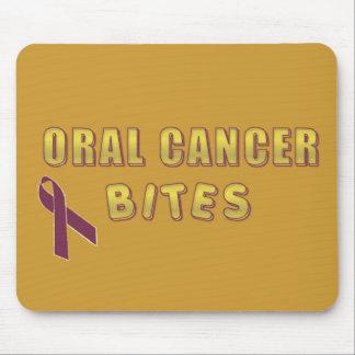ORAL CANCER BITES MOUSEPAD