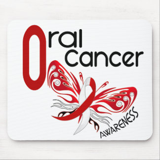 Oral Cancer BUTTERFLY 3.1 Mouse Pad