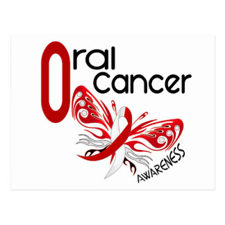 Oral Cancer BUTTERFLY 3 1 Postcard