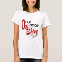 Oral Cancer BUTTERFLY 3.1 T-Shirt