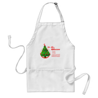 Oral Cancer Christmas Miracles Adult Apron