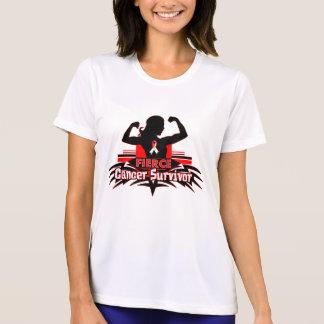 Oral Cancer Fierce Cancer Survivor Tee Shirt