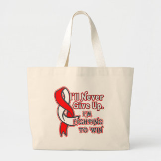 Oral Cancer Fighting To Win Jumbo Tote Bag